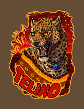 Teliko - Badge