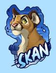 SkanDrake - Badge