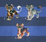 Feline cub designs 2 - 1 left