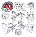 MORE CATS - Sketches