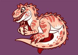 Tiny Allosaurus
