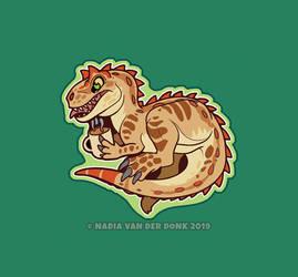 Tiny Allosaurus 2.0