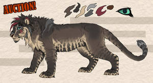 Cave lion character - CLOSED!