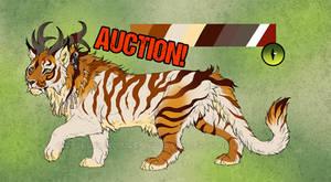 Nautilus Tiger Character - CLOSED