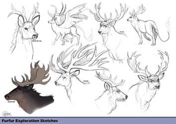 Furfur Exploration Sketches