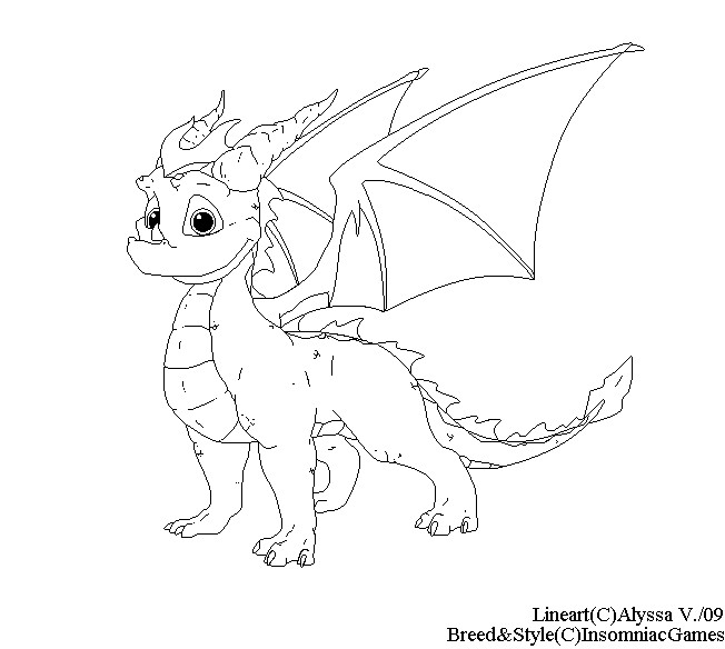 Mobile spyro the dragon coloring pages dragoart coloring pages for Spyro the dragon coloring pages