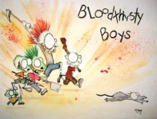Bloodthirsty Boys by Creepymama