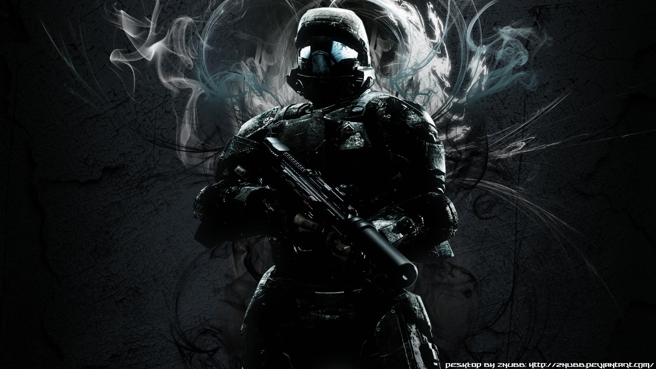 Halo 3 odst wallpaper by znubb on deviantart - Halo odst images ...