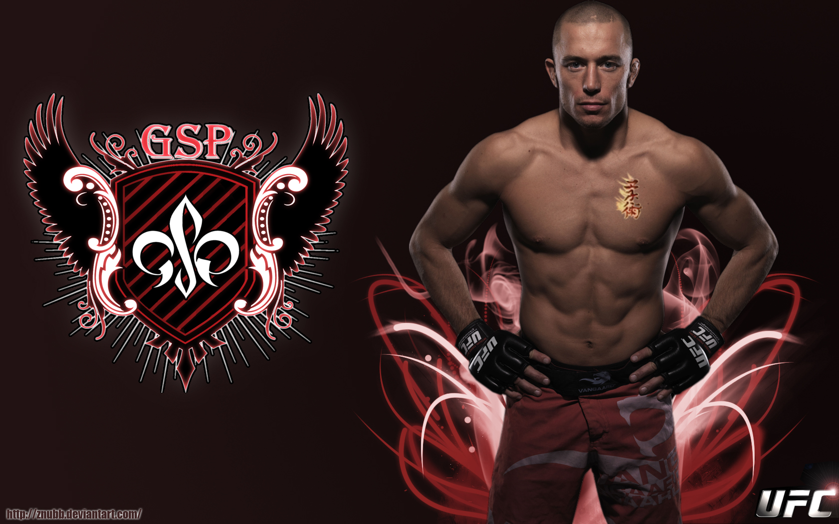 george st pierre vacates title image