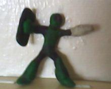 Sniper Joe from Mega Man by luisloh154