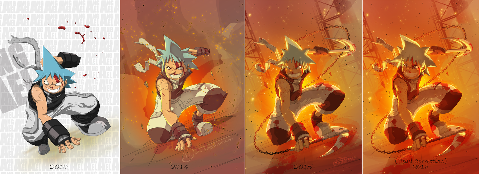 BlackStar SoulEater (comparison) by ArtStudioAngel