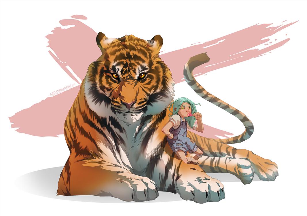 Marli and Friend by ArtStudioAngel