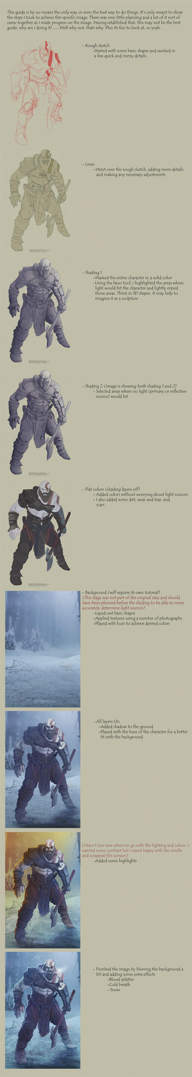 God of War (tutorial) by ArtStudioAngel