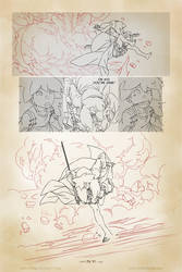 Life of Reign - Page 31 (work in progress) by GorillaSketch