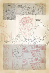 Life of Reign - Page 43 (work in progress) by GorillaSketch