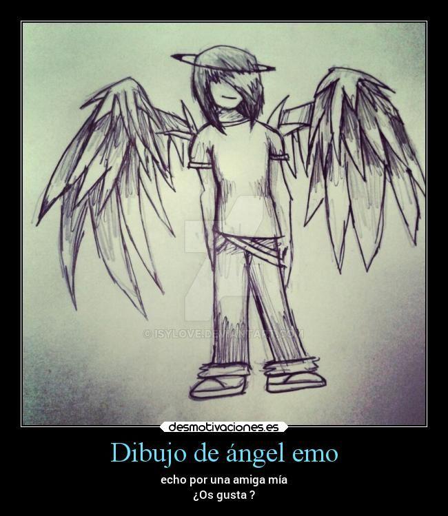 Dibujo de angel emo by isylove on deviantart dibujo de angel emo by isylove altavistaventures Images