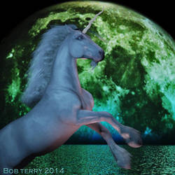 Moonstruck Unicorn by bucksco18966