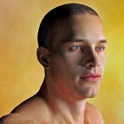 Portrait of a young man by bucksco18966