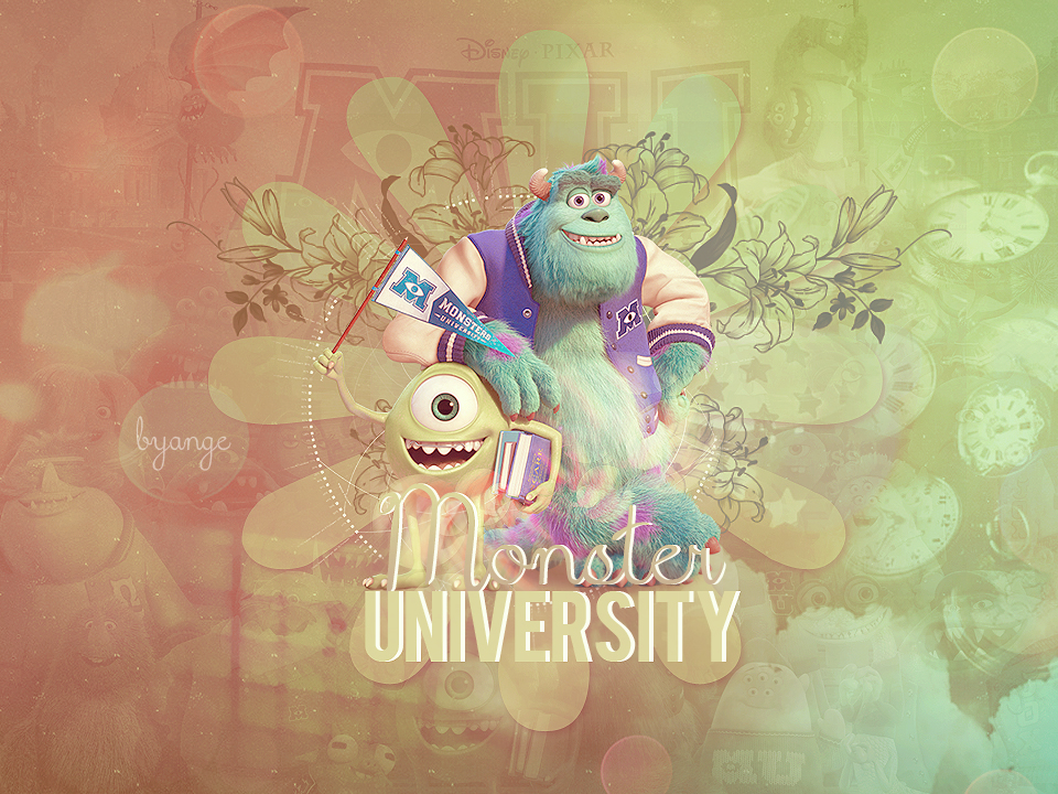 Monster university wallpaper by tofallinlove on deviantart monster university wallpaper by tofallinlove voltagebd Images