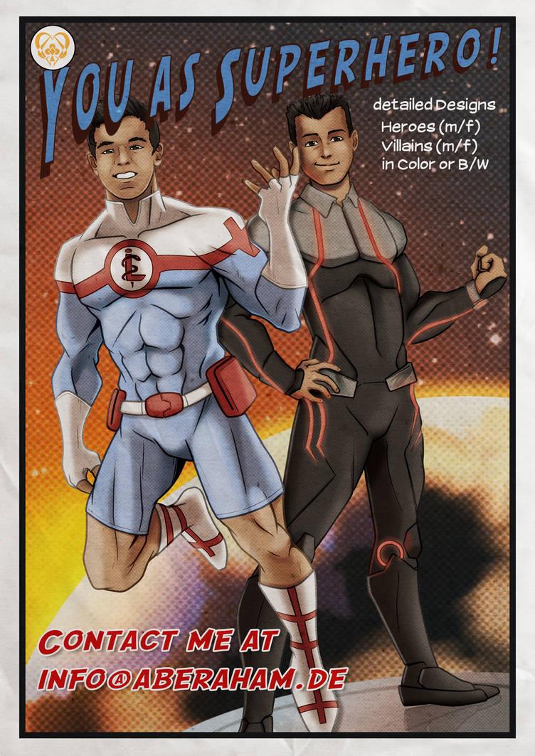 You as Superhero! by Abe88