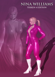 Nina Williams (Tekken 4 mod) by Killingtechniques