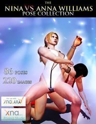 Nina VS Anna Williams Pose Collection by Killingtechniques