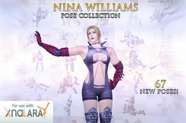 Nina Williams Pose Collection (Tekken 6) by Killingtechniques