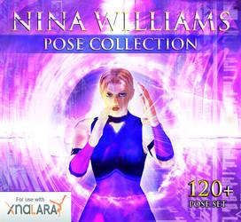Nina Williams Tekken Tag Pose Collection by Killingtechniques