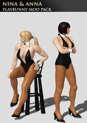 Nina  and Anna Williams (Playboy Mod Pack) by Killingtechniques