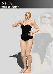 Nina Williams (Tekken 3 Bikini Mod) by Killingtechniques