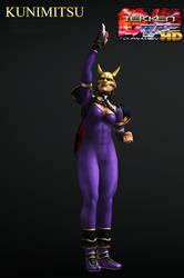 Kunimitsu - Tekken Tag Tournament 3P Model by Killingtechniques
