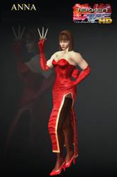 Anna Williams - Tekken Tag 1P Model by Killingtechniques