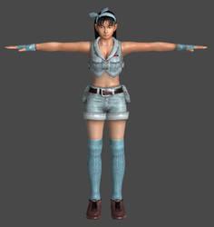 Jun Kazama - Tekken Tag Tournament model by Killingtechniques
