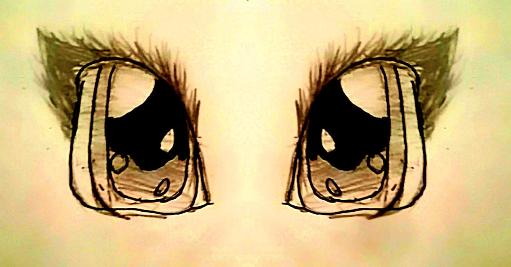 Eye practice  by thedayofdaisy