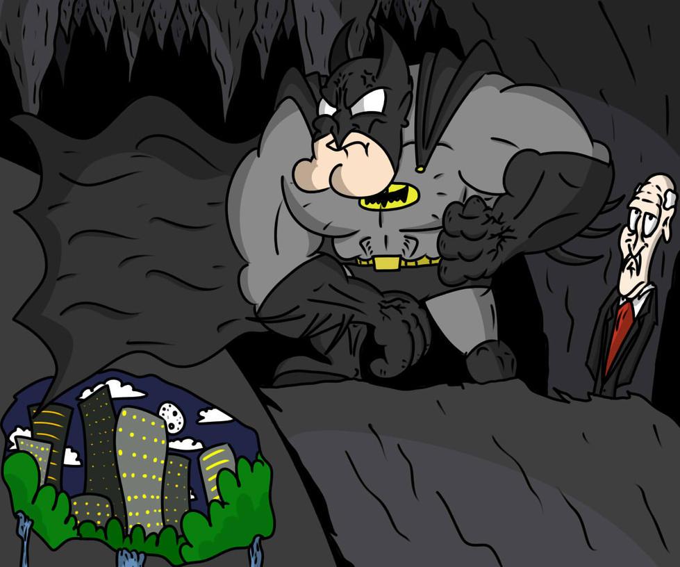 BatMAN by FlutterAnderson