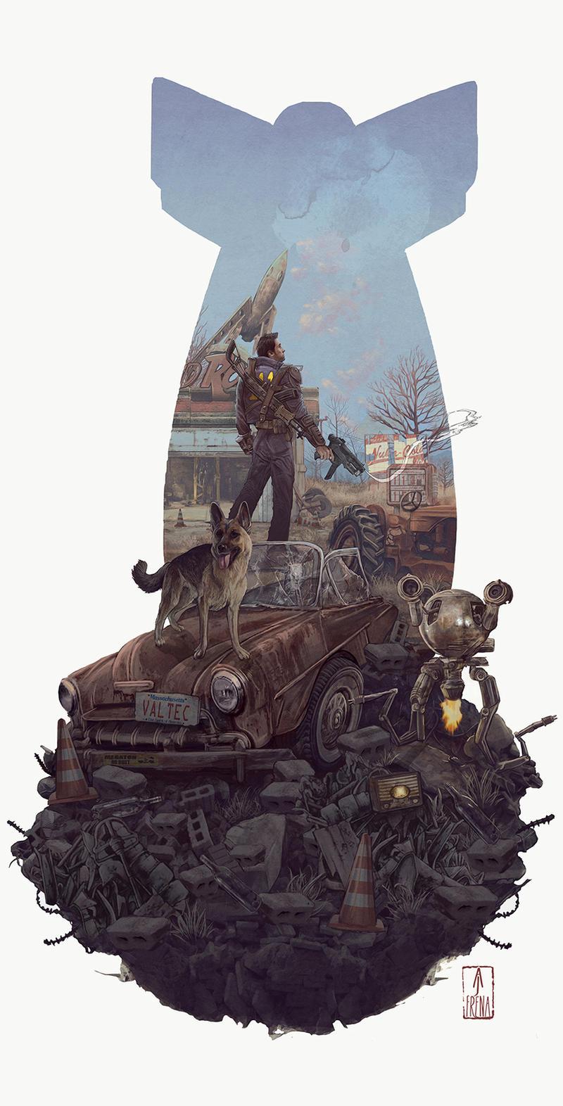 fallout 4  by AJFrena