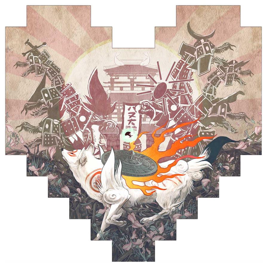 Revival of Amaterasu by AJFrena