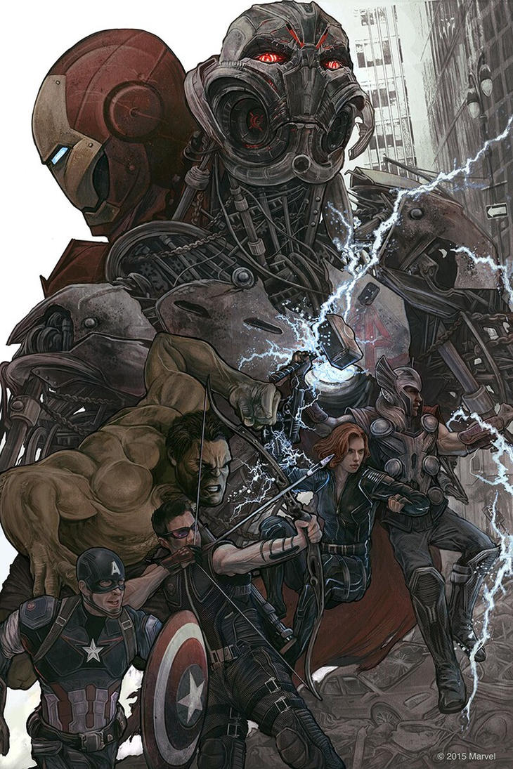 avengers: age of ultron by classic-syndrome