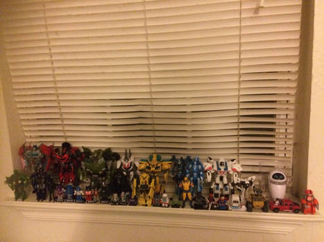 My action figure collection