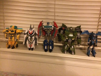 Autobots of Transformers Prime