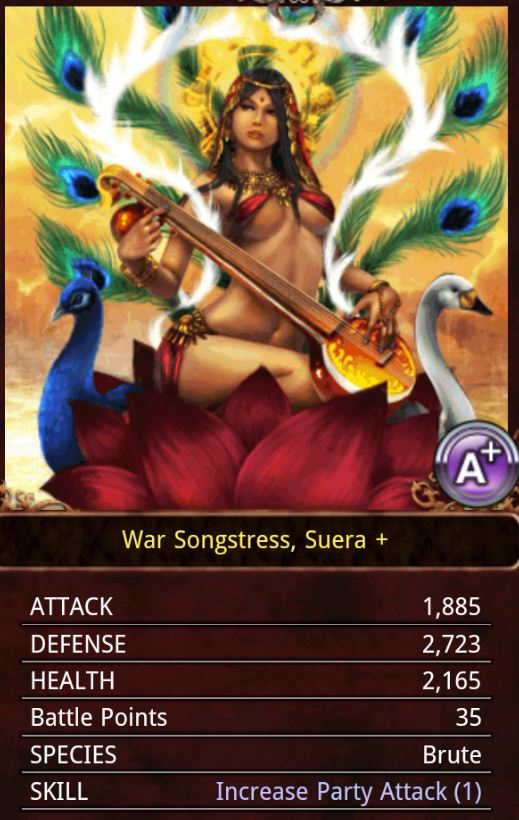 War Songstress, Suera by KilaliPop