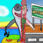 That Shark from WandaVision by grrside