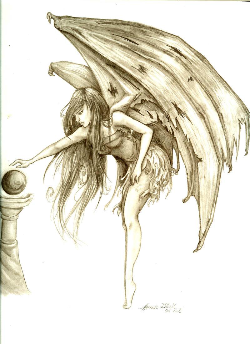 Dark Fairy by medieval-pirate on DeviantArt