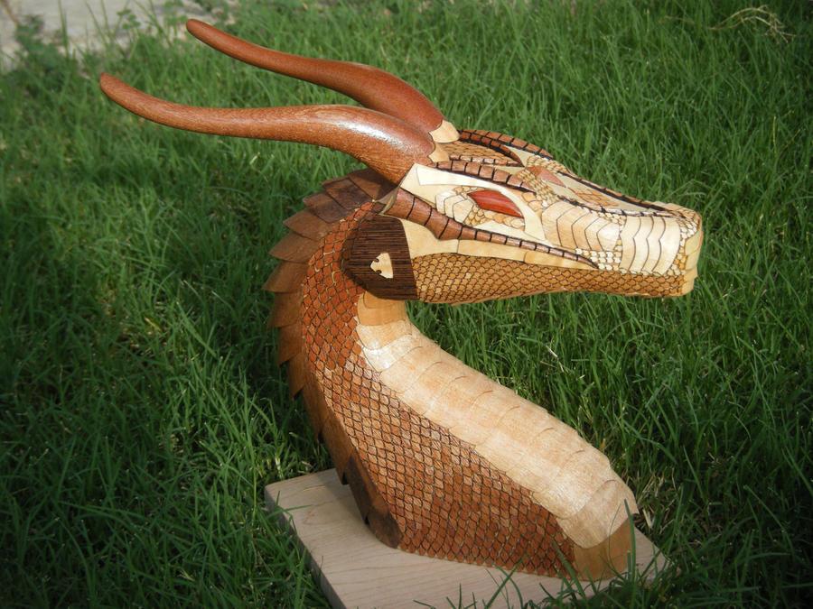 Dragon bust 2 by rcdog