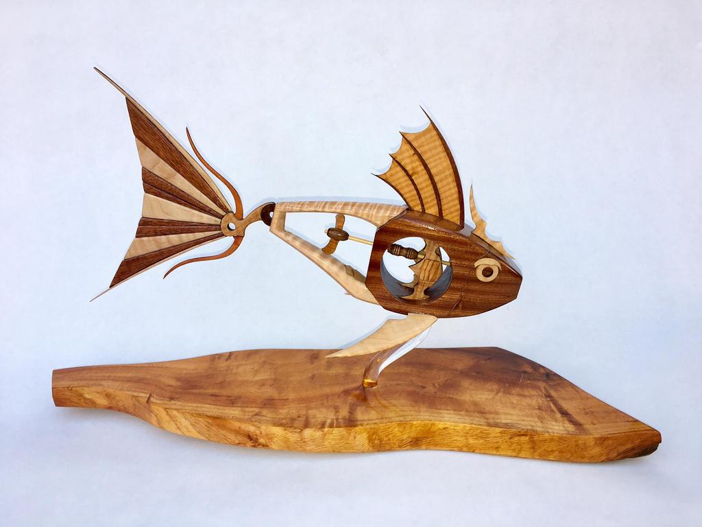 Steampunk Fish by rcdog