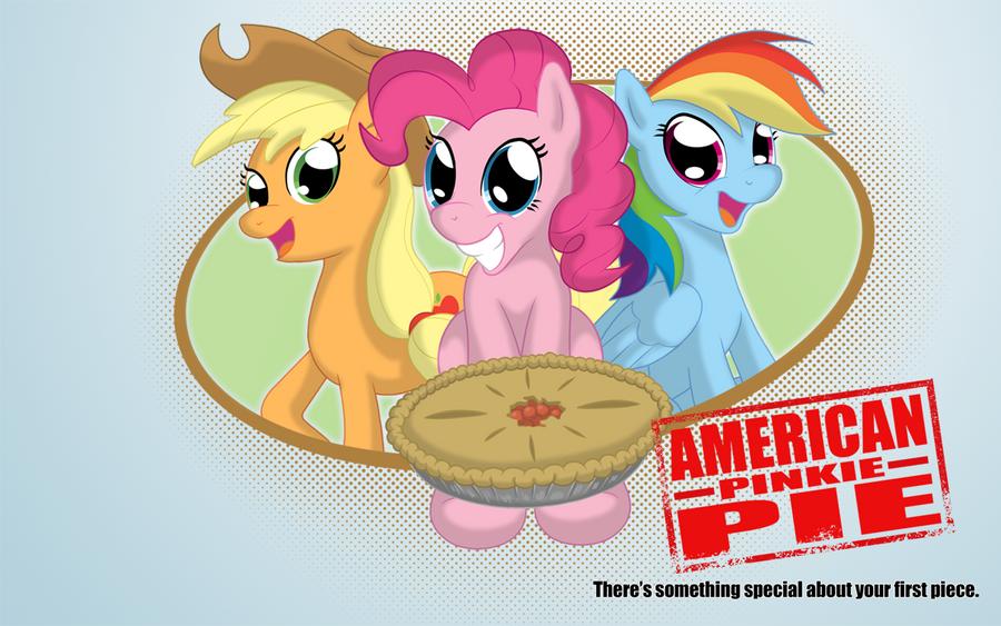 American Pinkie Pie by blue-von