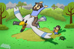 JonTron got his Wingull - GameGrumps
