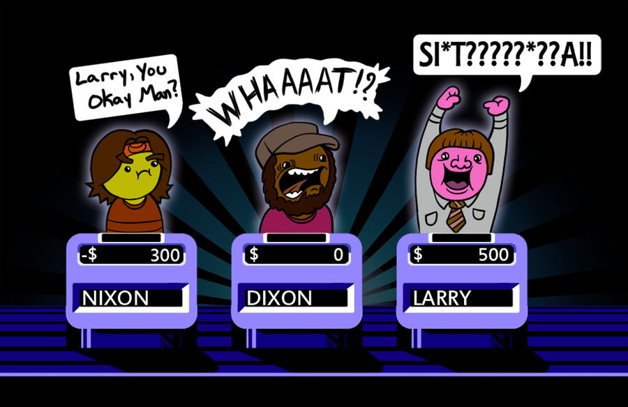 Jeopardy NIXON vs DIXON - GameGrumps by blue-von
