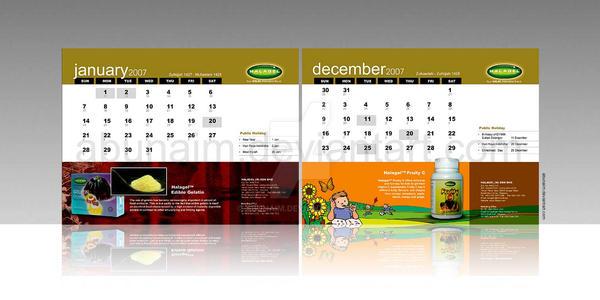 halagel calendar 2007 by abunaim