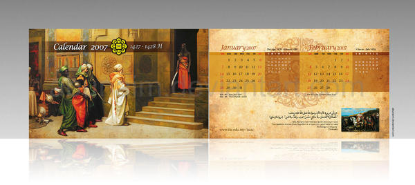 ISTAC calendar 2007 by abunaim
